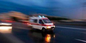 Karakoçan'da yağış nedeniyle kayganlaşan yolda kaza: 1 ölü