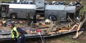 Bus accident in Kazakhistan: 8 killed,28 injured