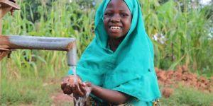 Yetim Eli help organization lays foundation of water wells in Uganda