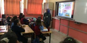 Siirt'te öğrencilere gıda güvenilirliği ve hijyeni eğitimi verildi