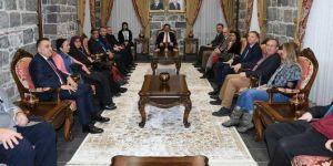 Büyükelçilerden Diyarbakır Valiliğine ziyaret