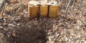 Bitlis kırsalında patlayıcı madde ele geçirildi
