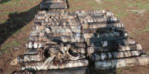 Çınar'da PKK'ye ait cephanelik ele geçirildi