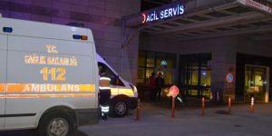 Kayseri'de minibüsle otomobil çarpıştı: 13 yaralı