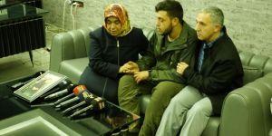 Hatice anne, PKK'den kurtulan oğluyla görüştü