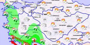 Meteoroloji'den Antalya için 'kırmızı' uyarı