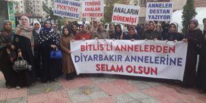 Bitlisli kadınlardan Diyarbakır annelerine destek ziyareti