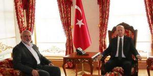 President Erdoğan receives Hamas Political Bureau Leader Haniyeh