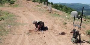 Yola tuzaklanmış el yapımı patlayıcı düzeneği imha edildi
