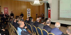 Diyarbakır'da trafik Bölge Değerlendirme Toplantısı düzenlendi