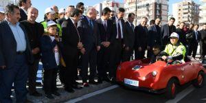 """Diyarbakır'da çocuklar için """"Trafik Eğitim Parkı"""" yapıldı"""