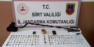 Kurtalan'da tarihi eser operasyonunda 2 kişi gözaltına alındı