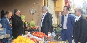 HÜDA PAR Şanlıurfa İl Başkanlığından Eyyübiye esnafına ziyaret