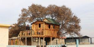 Çocukların hayalindeki 'masal ev' gerçekleştirildi