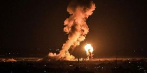İşgal rejimine ait uçaklar Gazze'ye hava saldırısı düzenledi