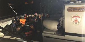 Çanakkale'de 43 düzensiz göçmen yakalandı