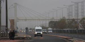 Diyarbakır'da yoğun sis