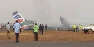 Sudan'da uçak kazası
