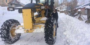Bingöl'de kar nedeniyle kapanan 180 köy yolundan 170'i ulaşıma açıldı