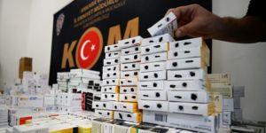 Örgüte gönderilecek 72 bin ilaç ele geçirildi