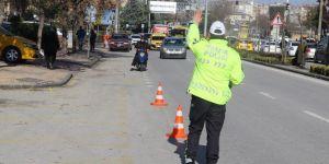 Gaziantep'te trafik kurallarını ihlal eden sürücülere para cezası verildi
