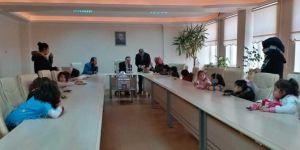 Minik öğrencilerden İdlib'e yardım duyarlılığı