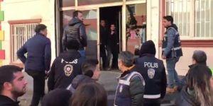 HDP'liler ile aileler arasında gerginlik