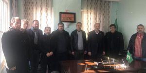 HÜDA PAR Viranşehir İlçe Başkanı Esmer'den gazetecilere anlamlı hediye
