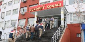 Çınar'da eş zamanlı operasyon: 41 gözaltı