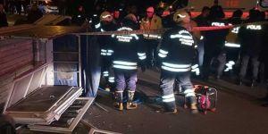 Gaziantep'te hırsızlar kaza yapınca yakalandı