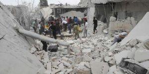 İdlib'de siviller hedef alındı: 10 ölü