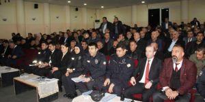 """Mardin'de """"Güven ve Huzur"""" toplantısı düzenlendi"""