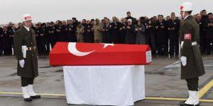 Tel Abyad'da hayatını kaybeden askerler memleketlerine uğurlandı