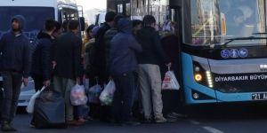 Diyarbakır'da toplu taşıma araçları yetersiz kalıyor