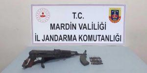 Dargeçit'te uzun namlulu silah ele geçirildi