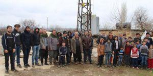 Hani'de borcunu ödeyemeyen abonelerden dolayı tüm köylülerin elektriği kesildi