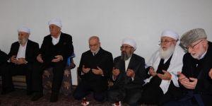 Saadet Partisi Genel Başkanı Karamollaoğlu Şeyh Abdülkerim Çevik'in taziyesine katıldı