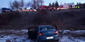 Malatya'da meydana gelen 2 ayrı kazada 6 kişi yaralandı