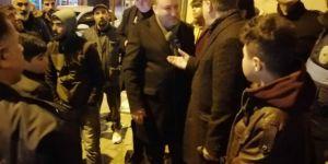 Bağlar Belediye Başkanı Beyoğlu depremden sonra vatandaşları ziyaret etti