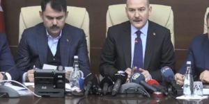 Üç Bakan Elazığ'daki depremle ilgili son bilgileri paylaştı
