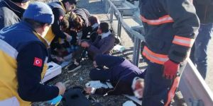 Kale'de trafik kazası: 7 yaralı