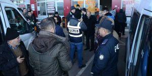 Türkiye genelinde 24 Ocak'ta 68 bin personelle 6 bin 628 noktada huzur operasyonu yapıldı