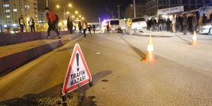 Kızıltepe'de aracın çarptığı genç hayatını kaybetti