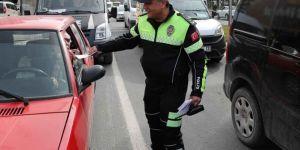 Gaziantep'te 971 sürücüye para cezası verildi