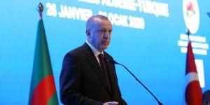 """Erdoğan: """"Afrika ülkeleriyle ticaretimizi 50 milyar dolar seviyesine taşıyacağız"""