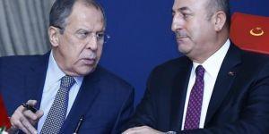 Dışişleri Bakanı avuşoğlu, Lavrov ile Suriye ve İdlib'i konuştu