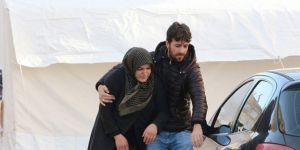 Depremin imtihan olduğunu belirten Elazığlılar, her şeye rağmen şükrediyor