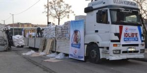 Yardım TIR'ları İdlib için yola çıktı
