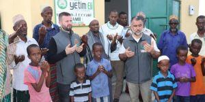 Avrupa Yetim Eli Kenya'da Selahaddin Eyyubi Camiinin açılışını yaptı