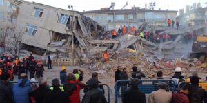 Elâzığ'da dün gece peş peşe depremler yaşandı